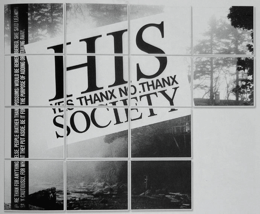 Jochen Gerz - His Society